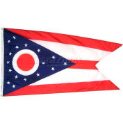 4X6 Ft. 100% Nylon Ohio State Flag