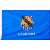 3X5 Ft. 100% Nylon Oklahoma State Flag