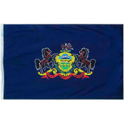 3X5 Ft. 100% Nylon Pennsylvania State Flag