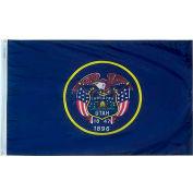3X5 Ft. 100% Nylon Utah State Flag