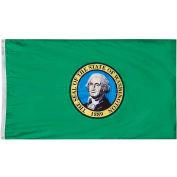 3X5 Ft. 100% Nylon Washington State Flag