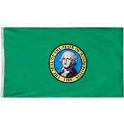 4X6 Ft. 100% Nylon Washington State Flag