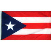 4X6 Ft. 100% Nylon Puerto Rico State Flag