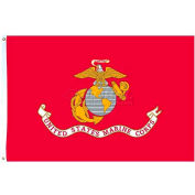 3X5 Ft. Nylon US Marine Corps Flag