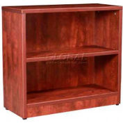 "Stellar 36""W Open Hutch (Use with 2 Dr. Lateral File/2 Dr. Storage Cabinet), Warm Cherry"