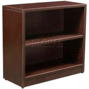 "Stellar 36""W Open Hutch (Use with 2 Dr. Lateral File/2 Dr. Storage Cabinet), Deep Espresso"