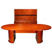 """York 120"""" Conference Table, 120""""W x 48""""D x 30""""H, Light Cherry"""
