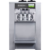 Argosy 8000ic - Commercial Soft Serve Ice Cream Machine, Counter Top, Two 4 Qt. Barrel Capacity