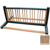 Polly Products 10 Position Bike Rack, Weathered