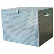 "Vestil Aluminum Treadplate Tool Box APTS-3648 - 48""x24""x36"""