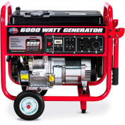 All Power APGG6000 6000W Portable Generator with Wheel Kit