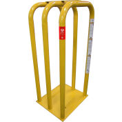 AME International Tire Inflation Safety Cage, 3 Bar, Heavy Duty Steel