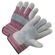 Leather Palm Gloves, Anchor 558