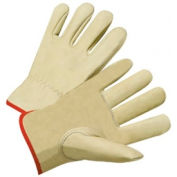 4000 Series Cowhide Leather Driver Gloves, Anchor 990k-A/L