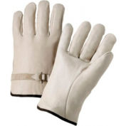 4000 Series Cowhide Leather Driver Gloves, Anchor 990ls/L