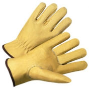 4000 Series Pigskin Leather Driver Gloves, Anchor 9940k/Xl