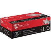 4 Mil Industrial Grade Powder Free Latex Gloves, X-Large, 100/Box