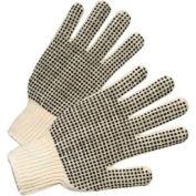 PVC Dot String Knit Gloves, Anchor 708SK