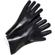 Pvc Coated Gloves, Anchor J1027rf - Pkg Qty 12
