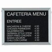 "Aarco Aluminum Framed Letter Board Message Center - 24""W x 18""H"