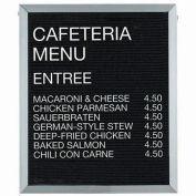 "Aarco Aluminum Framed Letter Board Message Center - 24""W x 30""H"