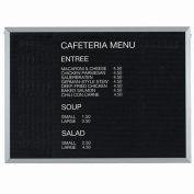 "Aarco Aluminum Framed Letter Board Message Center - 48""W x 36""H"
