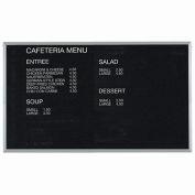 "Aarco Aluminum Framed Letter Board Message Center - 72""W x 48""H"