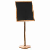 "Aarco Small Menu And Poster Holder Brass - 24""W x 20""H"