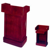 Hard Wood Cherry Finish Podium