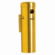 Wall Mounted Cigarette Receptacle Gold