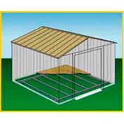 Arrow Shed Floor Frame Kit for 8' x 6' & 10' x 6' Building