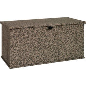 """Arrow Shed Storboss Storage Chest and Deck Box, 30""""L x 57-5/8""""W x 27-5/8""""H, Camouflage"""
