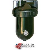 "Arrow 1 Qt. Desiccant Dryer D12-04, Zinc & Aluminum Bowl, 1/2"" NPT, 250 PSI"