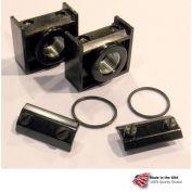 """Arrow Tri-Star Pipe Port Insert For Modular Units Ik53, Zinc, 3/8"""" Npt - Min Qty 2"""