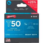 T50 Type Staples, Arrow Fastener 504