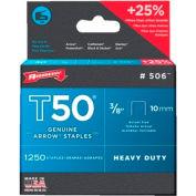 T50 Type Staples, Arrow Fastener 506
