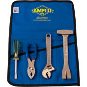 AMPCO® M-46 Non-Sparking 4 Piece Tool Kit