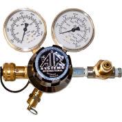 Air Systems International 3000 PSIDual-Gauge Breathing Air Regulator, Hansen Fitting, RG-3000