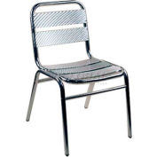Alston Quality Aluminum Armless Chair - Pkg Qty 2