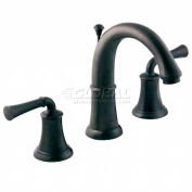 """American Standard® Pourtsmouth 2-Handle Widespread Lavatory Faucet, 7420.801.295, 5""""L, Satin"""