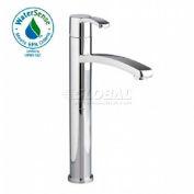 American Standard® Berwick 1 Control Vessel Lavatory Faucet, 7430.152.295, 1.5 GPM, Satin