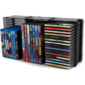 Atlantic® Disc Storage Module 45 CD/21 DVD, Black