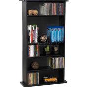 Atlantic® Drawbridge Multimedia Cabinet in Black