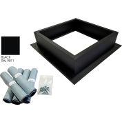 Attic Breeze® Roof Curb Installation Kit, Black
