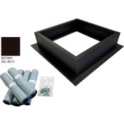 Attic Breeze® Roof Curb Installation Kit, Brown