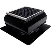 Attic Breeze® GEN 2 AB-2022A-BLK Self-Flashing Attached Solar Attic Fan 20W Black