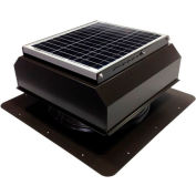 Attic Breeze® GEN 2 AB-2022A-BRN Self-Flashing Attached Solar Attic Fan 20W Brown