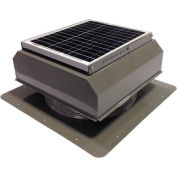 Attic Breeze® GEN 2 AB-2022A-GRY Self-Flashing Attached Solar Attic Fan 20W Gray