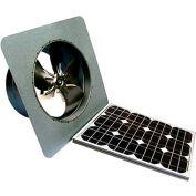 Attic Breeze® Zephyr™ AB-205 Gable Mount Solar Attic Fan, 20W