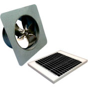 Attic Breeze® GEN 2 AB-2052 Gable Mount Solar Attic Fan 20W